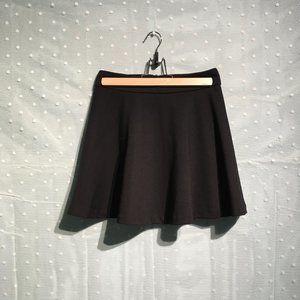 Widelia black skater skirt